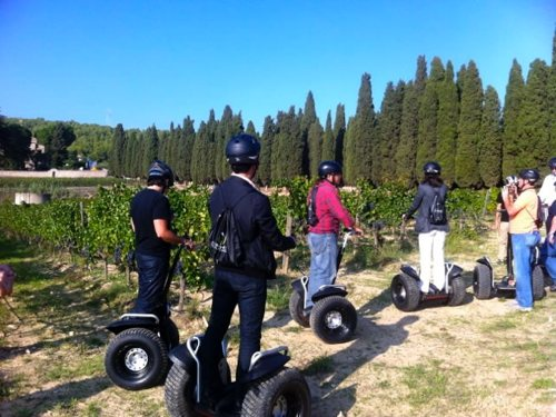 Segway tour i visita al celler